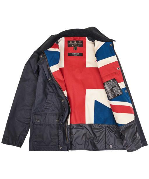 Women's Barbour Lightweight Acorn Union Jacket - Union Jack lining