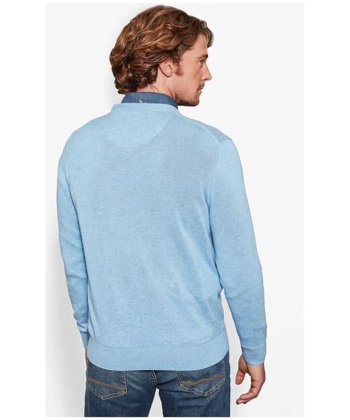 Men's Timberland Williams River V-Neck Sweater - Back