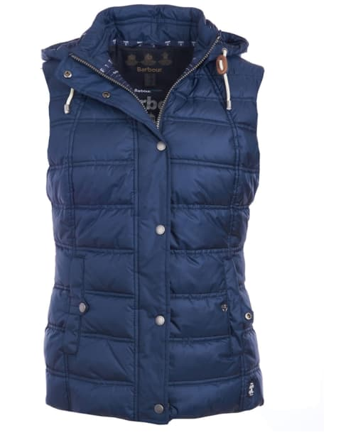 Women's Barbour Westmarch Quilted Gilet - Navy