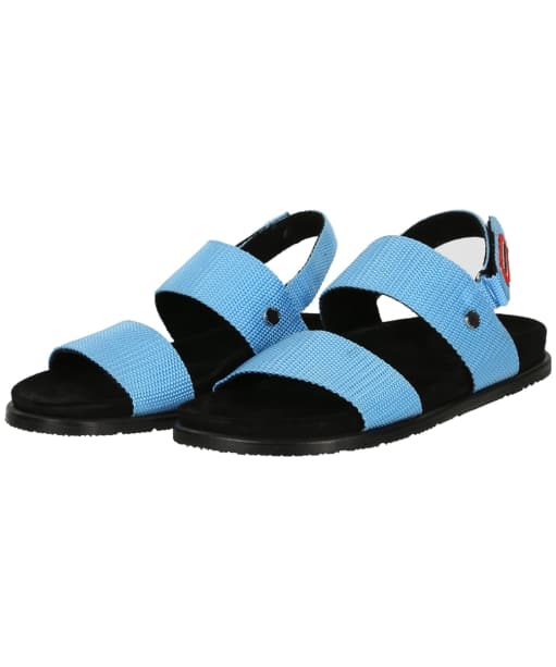 Women's Hunter Original Webbing Sandal - Pool / Black