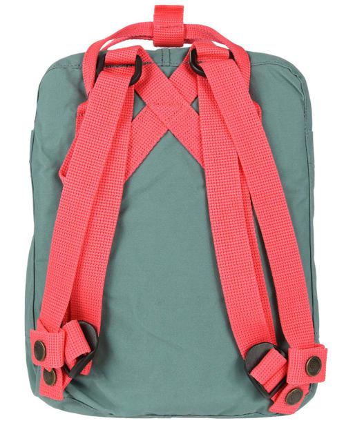 Fjallraven Kanken Mini Backpack - Frost Green / Peach Pink