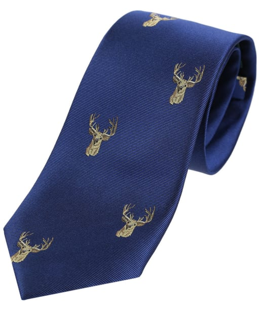 Men's Soprano Stags Head Tie - Blue