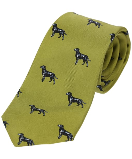 Men's Soprano Labradors Tie - Green