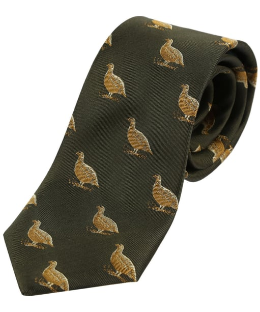 Men's Soprano Grouse Tie - Country Green