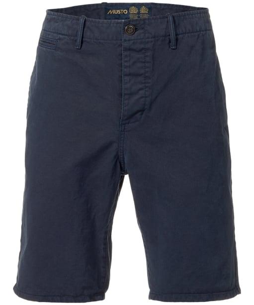 Men's Musto Erling Chino Shorts - Navy