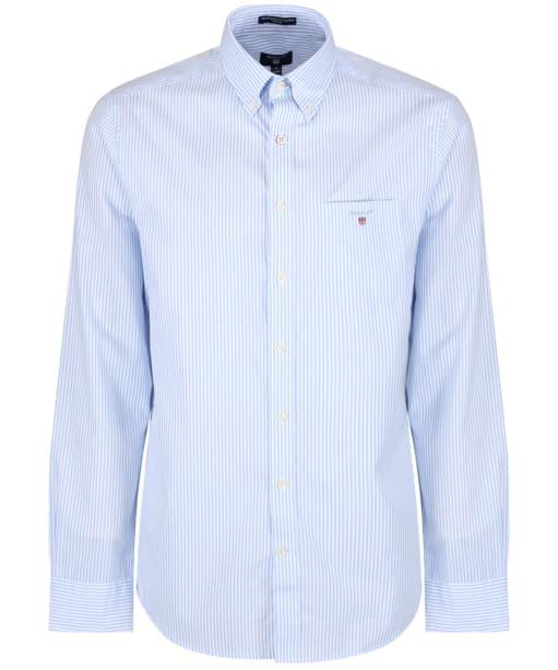 Men's GANT Regular Broadcloth Banker Shirt - Capri Blue