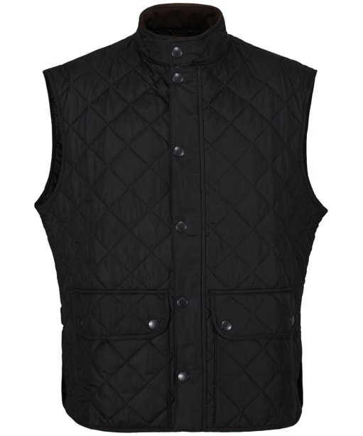 Men's Barbour Lowerdale Quilted Gilet - Black