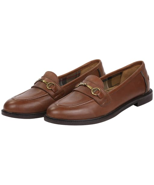 Women's Barbour Heather Loafers - Chestnut