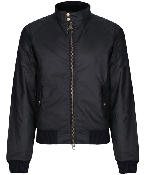 Men's Barbour Steve McQueen Merchant Wax Jacket - Navy
