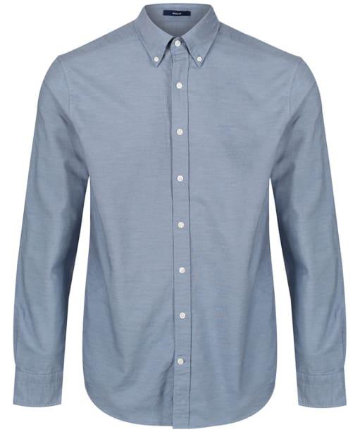 Men's GANT Heather Regular Shirt - Salty Sea