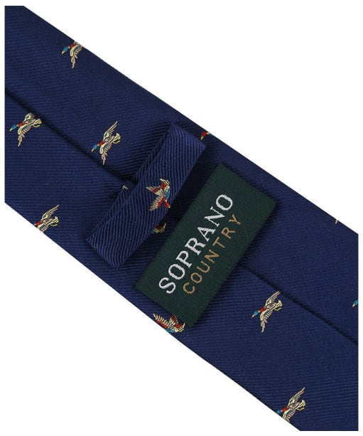 Men's Soprano Flying Ducks Tie - Blue