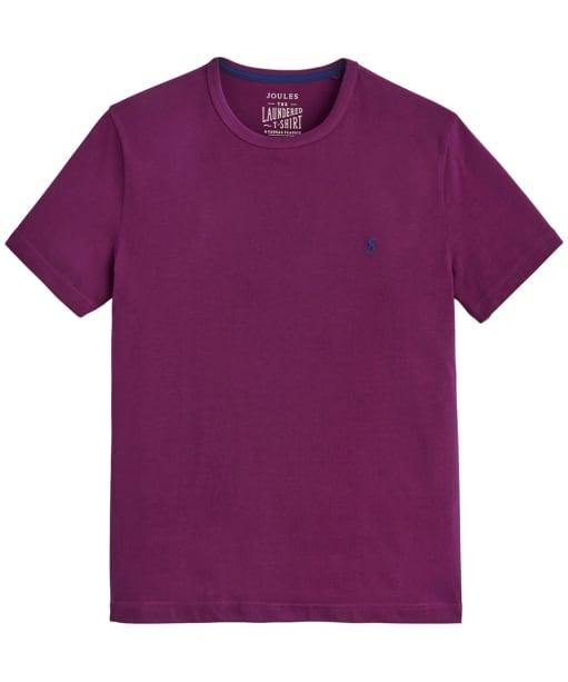 Men's Joules Laundered Tee - Dark Purple