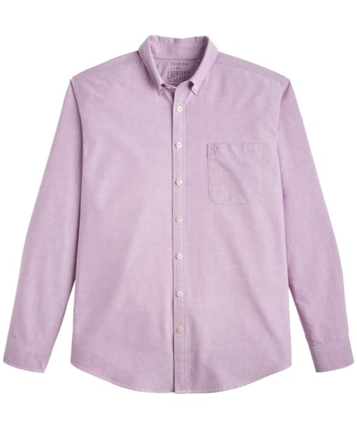 Men's Joules Laundered Oxford Shirt - Rock Rose