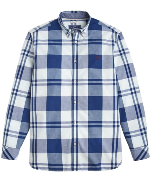 Men's Joules Whittaker Check Shirt - Indigo Overcheck