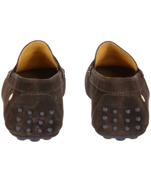 Men's Fairfax & Favor Monte Carlo Driver Shoes - Chocolate Suede