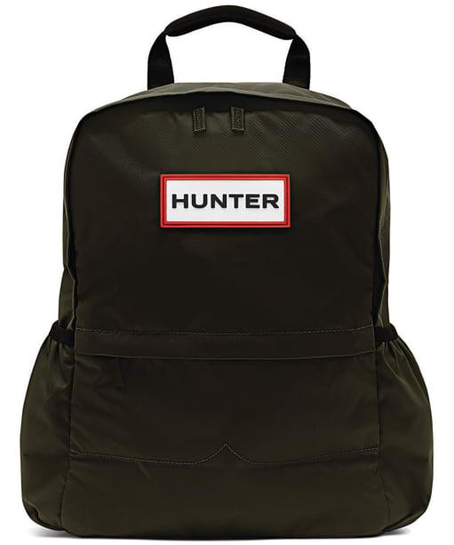 Hunter Original Small Nylon Backpack - Dark Olive
