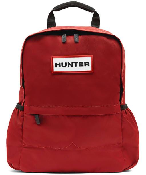 Hunter Original Small Nylon Backpack - Military Red