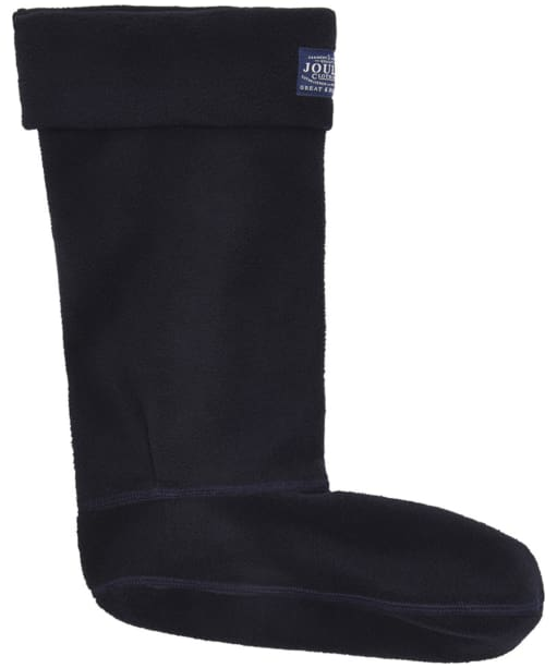 Women's Joules Welton Fleece Welly Socks - Marine Navy