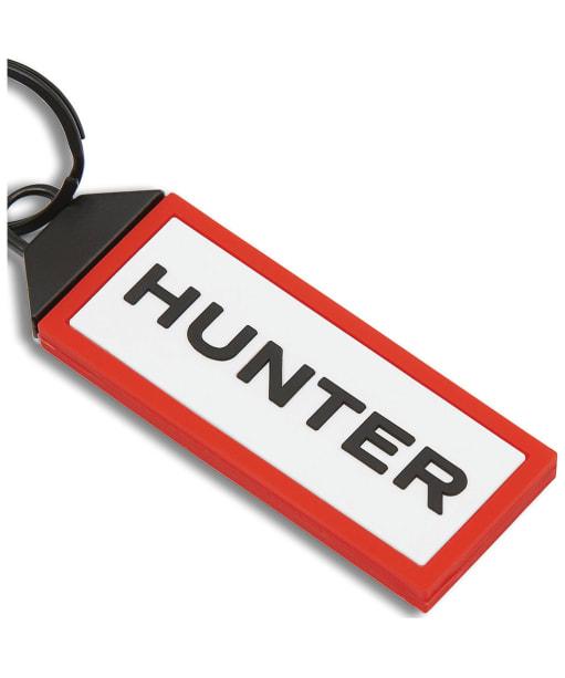Hunter Original Keyring - Black / White / Red