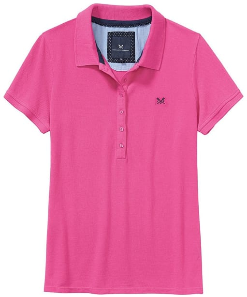 Women's Crew Clothing Classic Polo Shirt - Orchid Pink