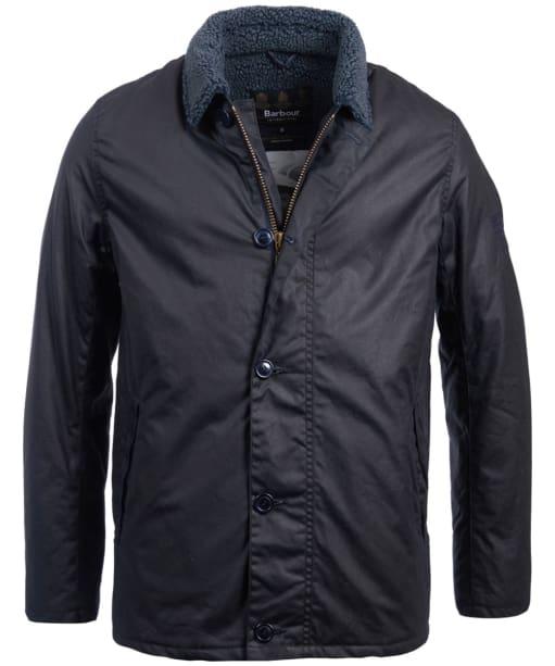 Men's Barbour Steve McQueen Havasu Wax Jacket - Navy