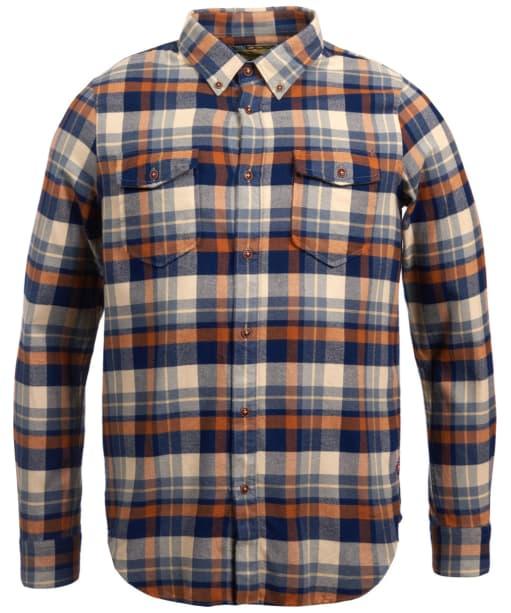 Men's Barbour Steve McQueen Cutter Check Shirt - Ecru Check