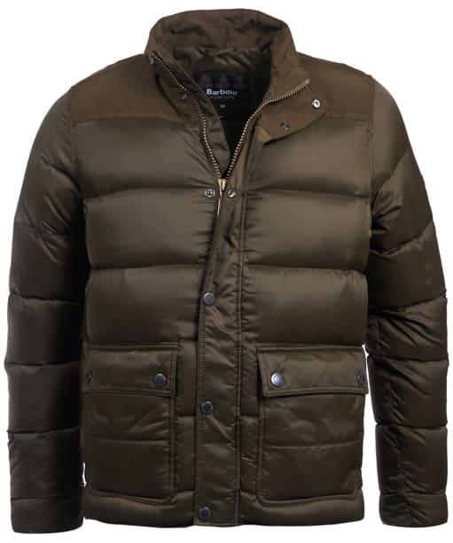 Men's Barbour International Tuck Quilted Jacket - Olive