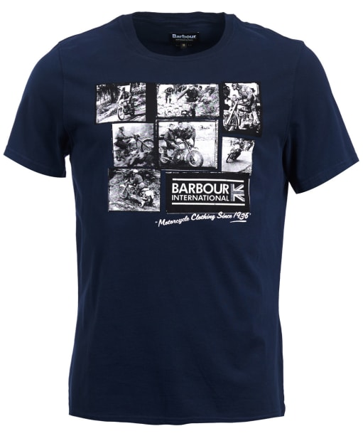 Men's Barbour International System Tee - Navy