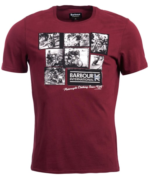 Men's Barbour International System Tee - Port