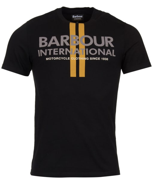 Men's Barbour International Locking Tee - Black
