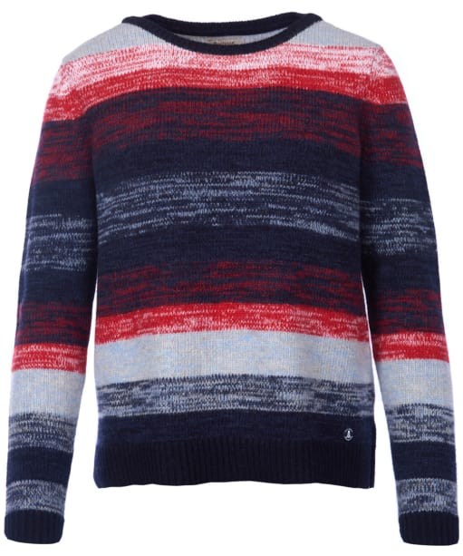 Women's Barbour Rhossili Knitted Sweater - Navy