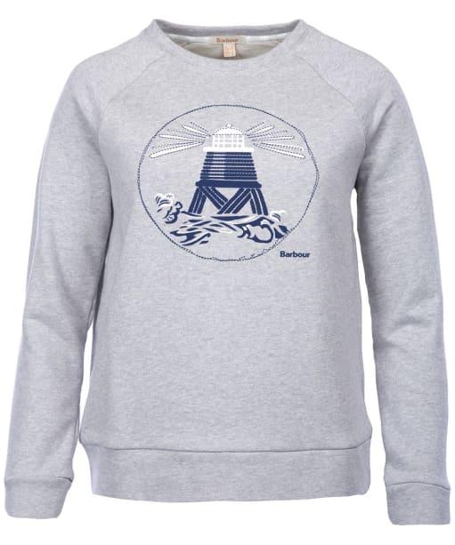 Women's Barbour Coldhurst Sweatshirt - Light Grey Marl