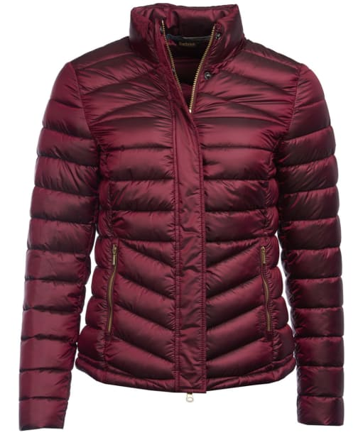 Women's Barbour Vartersay Quilted Jacket - Berry Pink