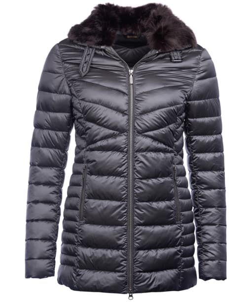 Women's Barbour Lomond Quilted Jacket - Ash Grey