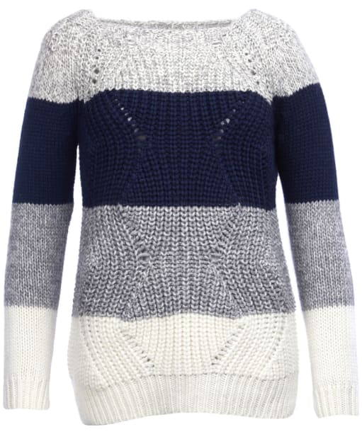 Women's Barbour Padstow Knitted Sweater - Navy