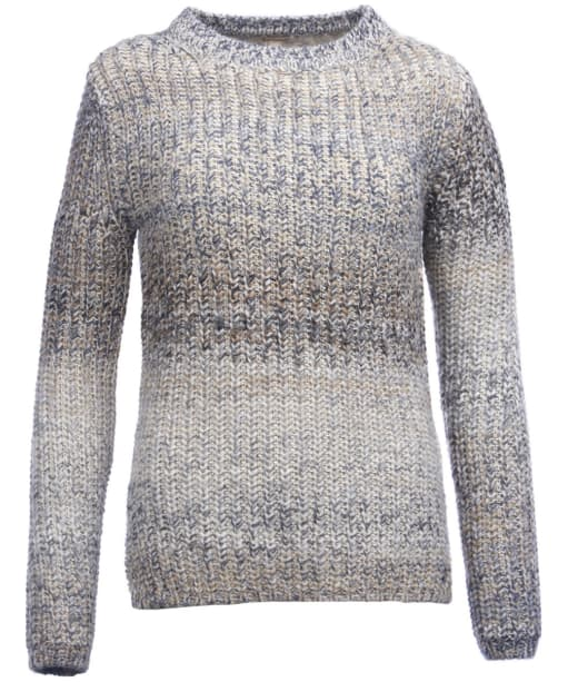 Women's Barbour Seahouse Knitted Sweater - Mist Mix