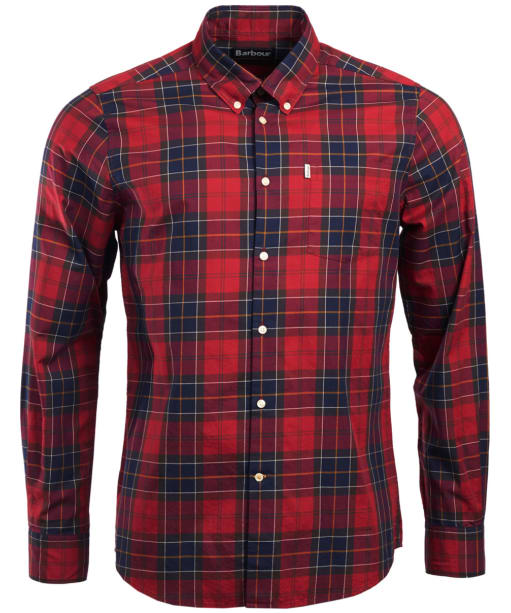 Men's Barbour Wetheram Shirt - Red