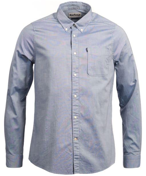 Men's Barbour Endsleigh Oxford Shirt - Mid Blue