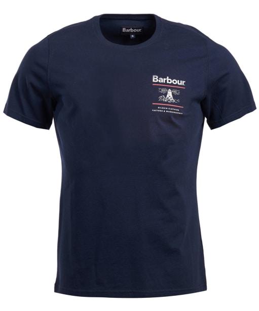 Men's Barbour Reed Tee - Navy