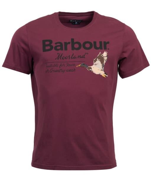 Men's Barbour Country Tee - Merlot