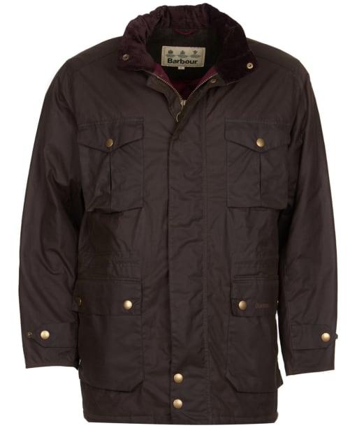 Men's Barbour Newcastle Wax Jacket - Peat