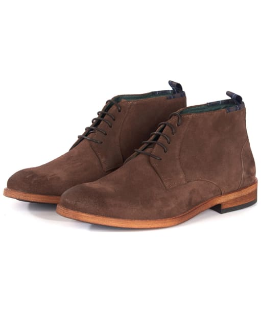 Men's Barbour Benwell Chukka Boot - Chocolate Suede