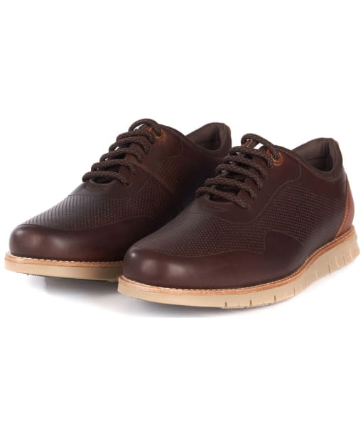 Men's Barbour Kingsley Shoes - Brown