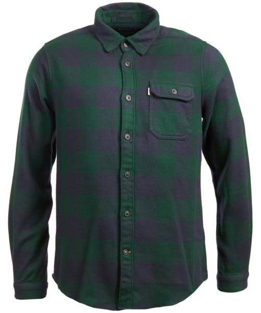 Men's Barbour Marshal Check Shirt - Seaweed