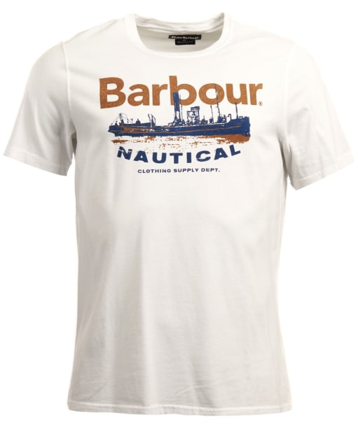 Men's Barbour Pilot Tee - White