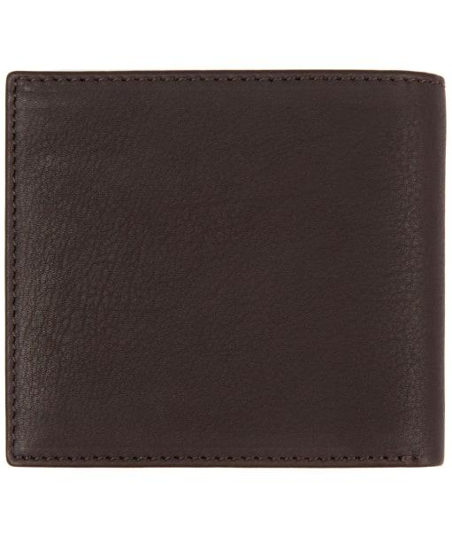 Men's Barbour Wallet and Coin Holder - Dark Brown