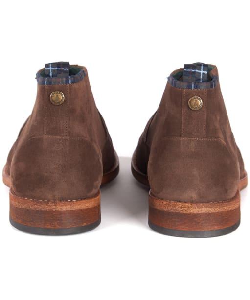 Men's Barbour Benwell Chukka Boot - Chocolate Suede