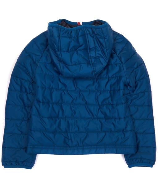 Boy's Barbour International Locking Hooded Jacket, 10-15yrs - Petrol Blue