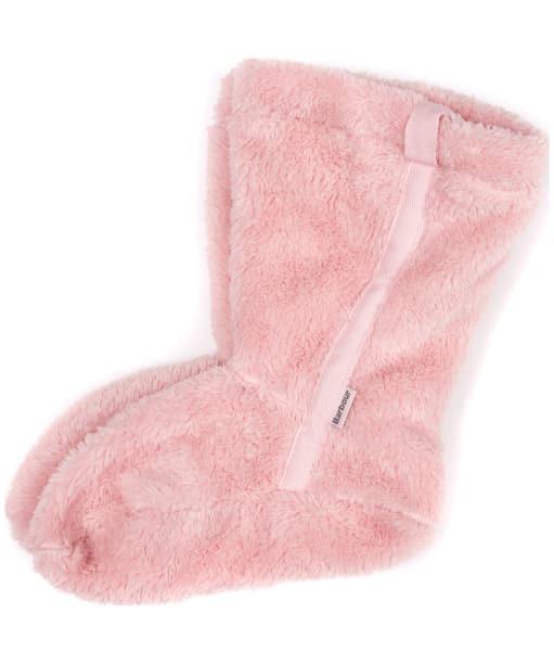 Women's Barbour Primrose Fleece Wellington Socks - Pink