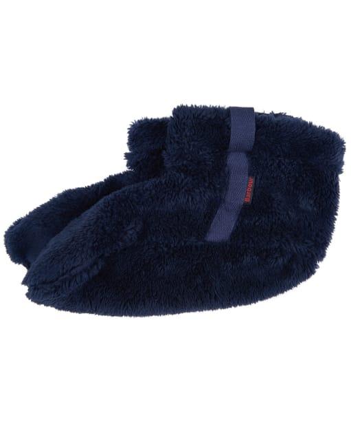 Women's Barbour Wilton Fleece Wellington Socks - Navy